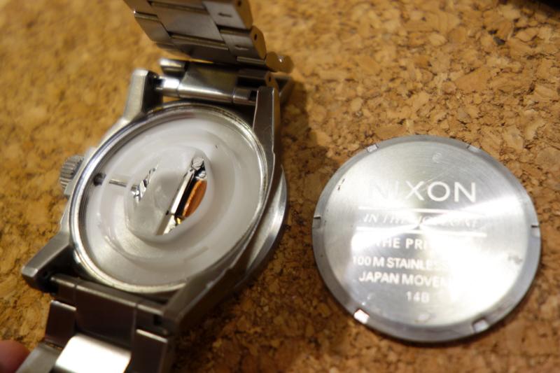 ニクソン電池交換PRIVATE-7